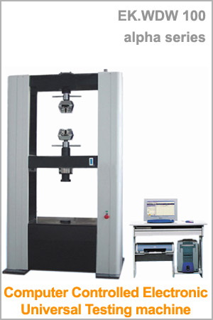 Computer Controlled Electronic Universal Testing Machine : EK WDW 100 alpha series